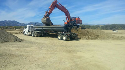 trucking services JBS Pipeline Contractors Denver